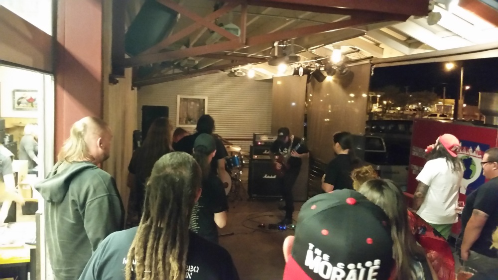 Metal! At a brewery! Hails!