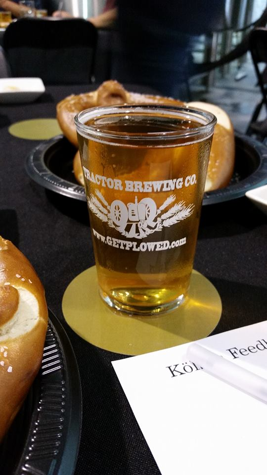 Special beer releases for co-op members included the Kolsch, served with giant German-style pretzels. Yum.