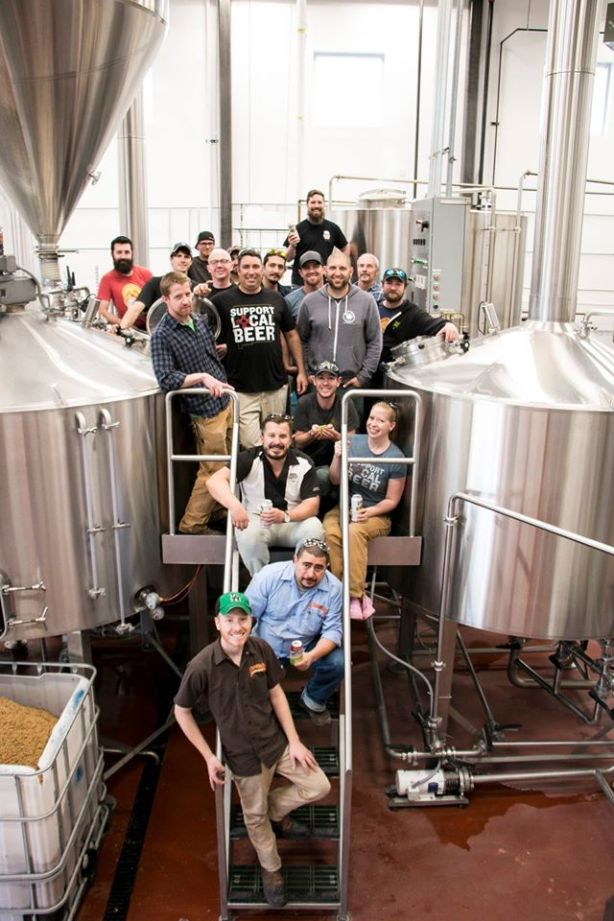 Good luck picking a best brewmaster/head brewer out of this bunch. (Photo courtesy of Samantha Ward)