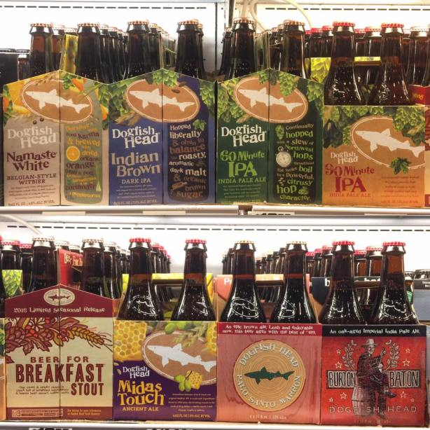 Welcome back, Dogfish Head. We missed you.
