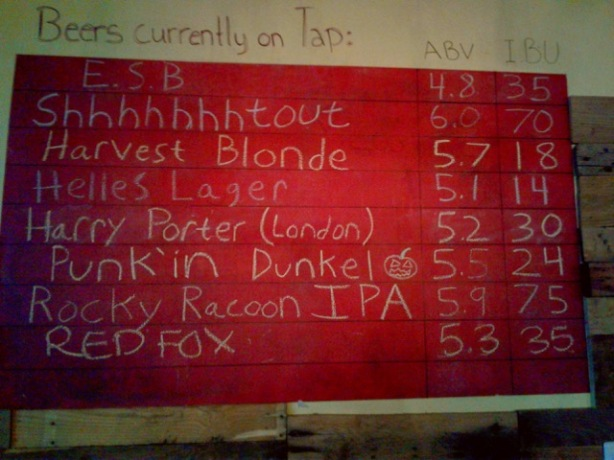 Kaktus has kept its beer menu fresh throughout the year.