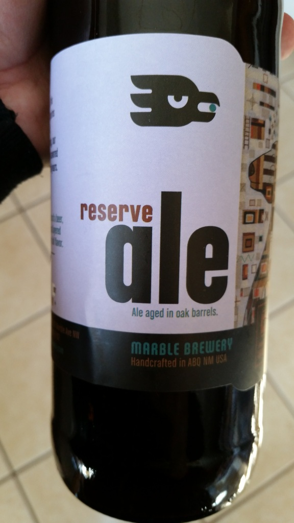 The current edition of Reserve Ale is downright sacrilicious.