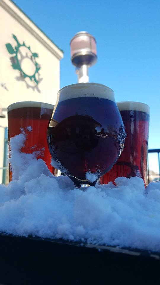 The winter beer lineup at Turtle Mountain has been strong. (Photo courtesy of TMBC)