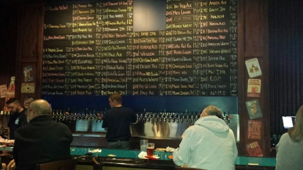 There are so many damn beers at the new Blue Grasshopper Taproom on Coors.