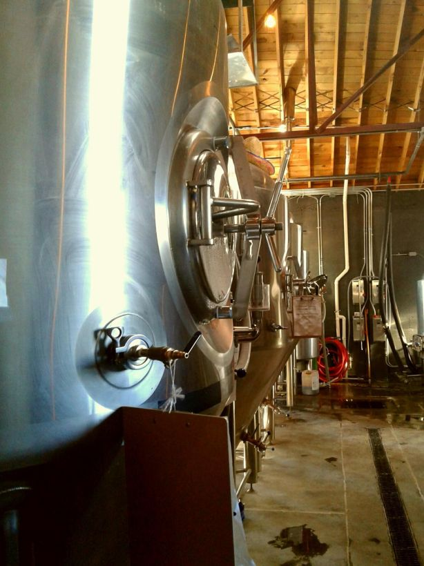 The brewing equipment has been put to work quite often.