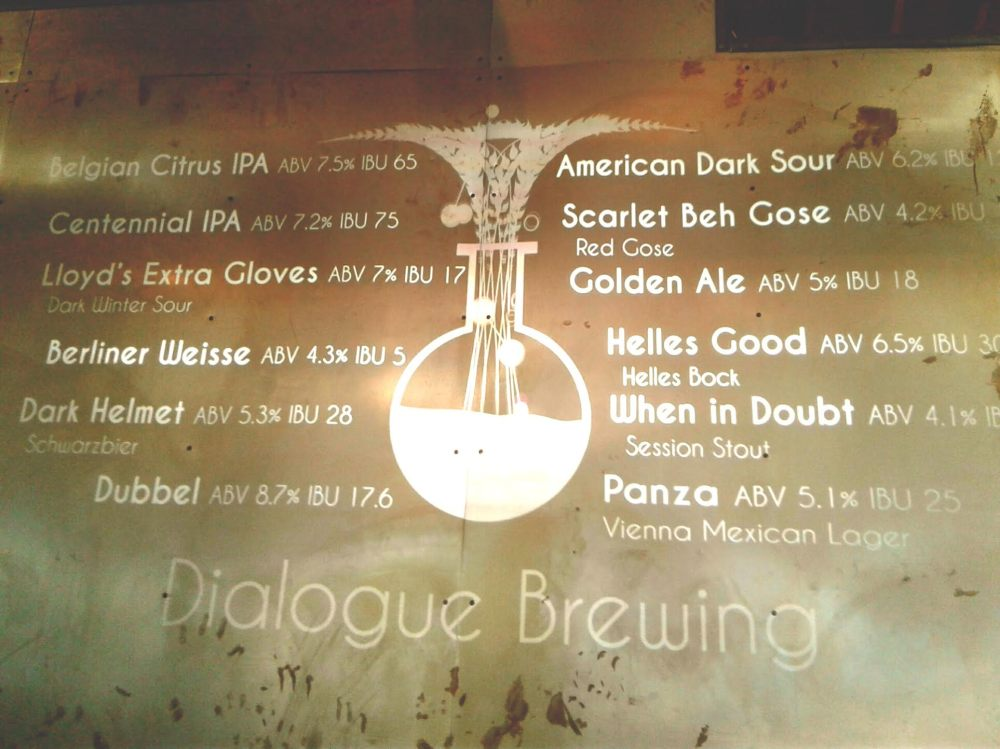 Variety has been the spice of life when it comes to the beer styles at Dialogue.