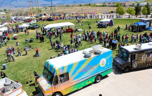 Dark side brew crew covering the new mexico craft beer scene for Food truck and craft beer festival