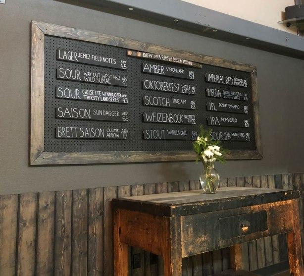 BowandArrow-beerboard