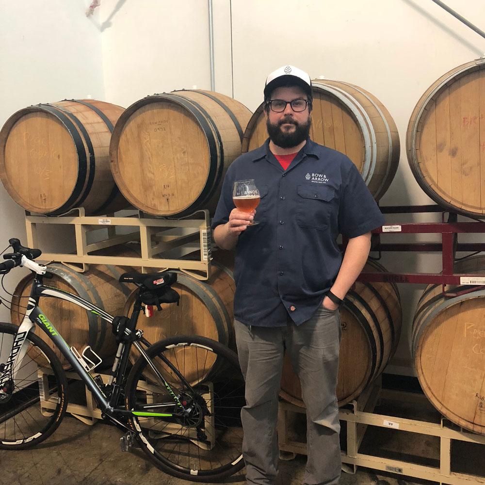 Ted-barrels-bike
